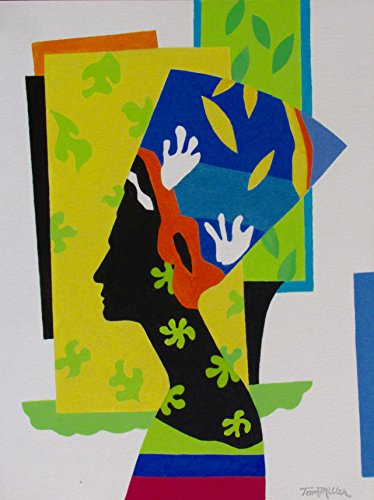 DREAMING OF MATISSE - Egyptian wall decor