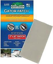 Gator Patch Fiberglass Reinforced Repair Patch - Repairs Holes, Dents & Cracks on Multiple Surfaces - DIY