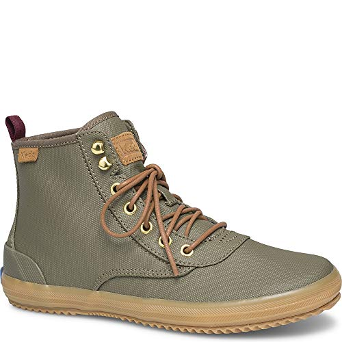 Keds Scout Boot Splash Canvas w/Thinsulate Women 6.5 Olive ()