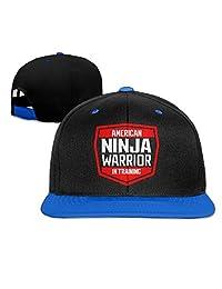 AAWODE Kid's American Ninja Warrior Adjustable Snapback Hip-hop Baseball Cap