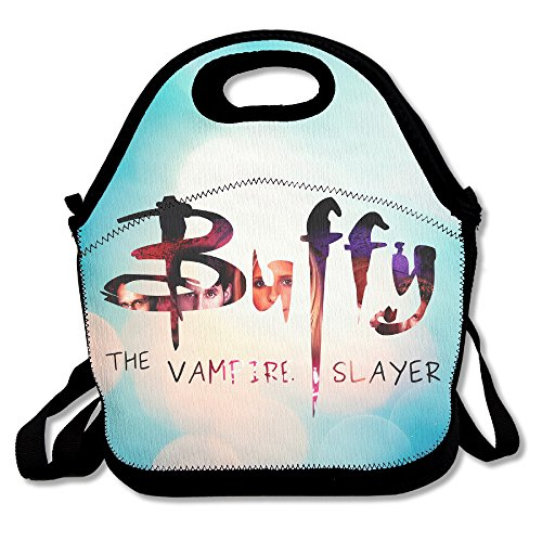 [BigLays Buffy The Vampire Slayer Lunch Tote Bag Lunch Box Neoprene Tote For Kids And Adults For Travel And Picnic] (Buffy The Vampire Slayer Movie Costume)
