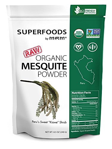 MRM - Organic Mesquite Powder, Non-GMO Project Verified, Vegan and Gluten-Free (8.5 Ounce)