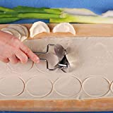 Pastry Cutters - Stainless Steel Dough Press Dumpling Maker Mould Pie Ravioli Cooking Pastry Circle Wraper Cutter - Press Stainless Dough Medium Electronic Dumpling Machine Electric Size Shaper