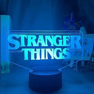 Dalovy Festival American Web Television Series Led Night Light Stranger Things for Home Decoration Touch Sensor Night Light USB Table Lamp Gift
