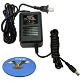 HQRP AC Adapter for Boss BRC-120 BRC-120T A41408DC Replacement, fits GT-3, GT-6, GT-6B Guitar Effects Processor, Power Supply Cord + HQRP Coaster