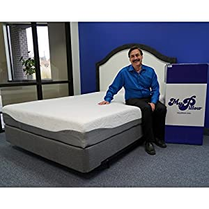 My Pillow Three-inch Mattress Bed Topper - By MyPillow (King)