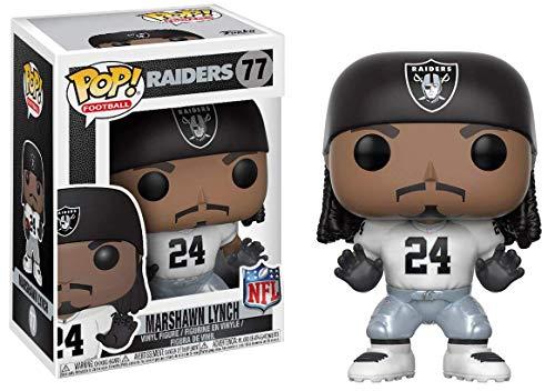 Raiders Funko Pop! NFL Marshawn Lynch Color Rush Vinyl ()