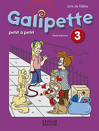 51fm6RvXzVL Galipette Petit 3.º Primaria. Pack Livre de lélève editado por Oxford