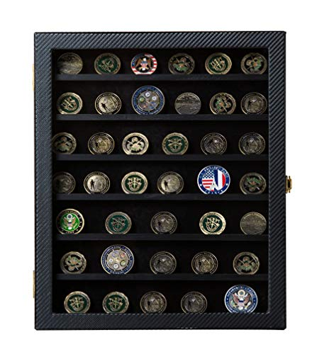 JackCubeDesign-Military-challenge-coin-Casino-poker-chip-medals-pins-badges-ribbons-display-case-cabinet-holder-shadow-box-w-acrylic-door-MK375A