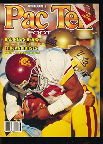 - Athlon's Pac Ten Football 1987 Annual Journal : Frankie Albert the Father of Modern Quarterbacks; Mike Gottfried; History American Football; Oklahoma vs Nebraska (1987 Journal)