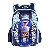 YOURNELO Boy's Cool Transformers Print Lightweight Spine School Backpack Rucksack (Transformers1)