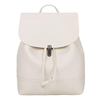 4091daa81f9f2 LeeY Damen Rucksack Frauen Casual Vintage Leder Daypack Schultertasche Reiserucksack  Tasche Einkaufen Backpacks Wasserdichte Freizeitrucksack Für