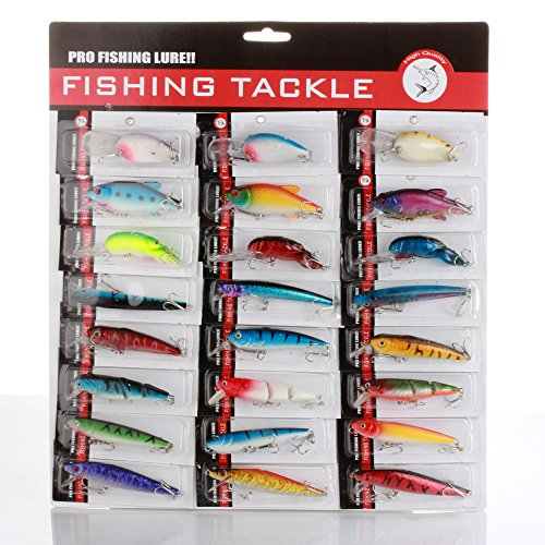 Flexzion Floating Crankbaits Assorted Beginner