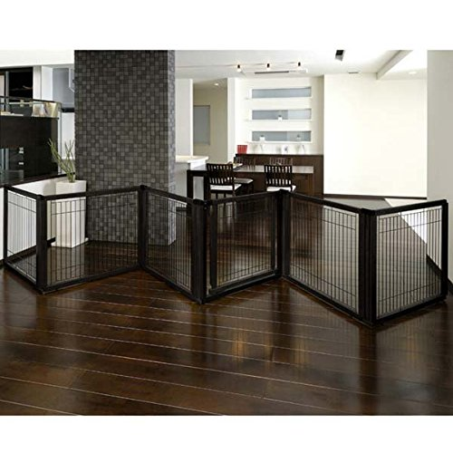 richell-convertible-elite-6-panel-pet-gate-black