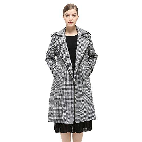 Gray Womens Coat - 3