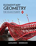 Best Geometry Textbooks - Elementary Geometry for College Students Review