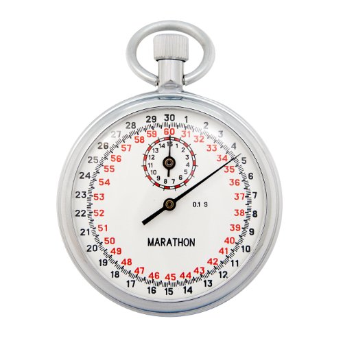 MARATHON ST211005 Stopwatch Single Action Mechanical 1/10 Second (Mechanical Stopwatch)