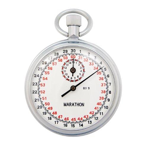 MARATHON ST211005 Stopwatch Single Action Mechanical 1/10 Second by Marathon