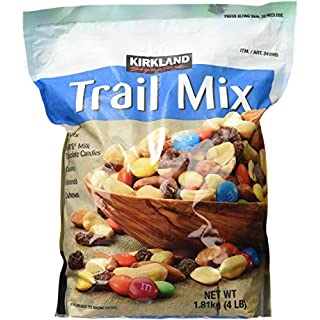 Signature Trail Mix, Peanuts, M & M Candies, Raisins, Almonds & Cashews, 4 lb, 2 Pack