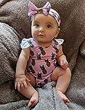 Oklady Baby Girl Swimsuit Pineapple Print Bikini