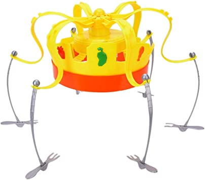 Tnfeeon Food Crown Game, Musical Electronic Snack Fruit Spinning ...