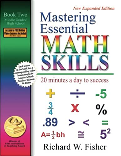 Mastering essential math skills 20 minutes a day to success book 2 mastering essential math skills 20 minutes a day to success book 2 middle gradeshigh school richard w fisher 9780966621129 amazon books fandeluxe Choice Image