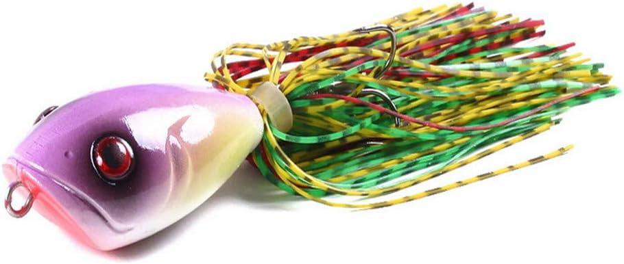 Artificielles P/êche TriLance Leurre de P/êche avac Crochet App/ât Kit de P/êche avec Hame/çons Durs Leurre App/ât en Forme de Crabe pour la P/êche en Eau Douce et Eau de Mer