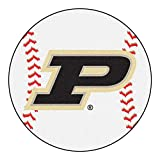 NCAA Purdue University 'P' Baseball Mat, 27''/Small, Black