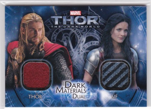 Thor The Dark World THOR & SIF DUAL Costume Card #DMD9 -