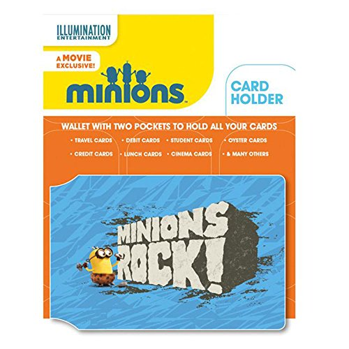 Minions Rock Caveman Pass Card Holder