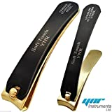 YNR Professional German Black & Gold Toe Nail Cutter Clipper Nippers Chiropody Heavy Duty Thick Nails