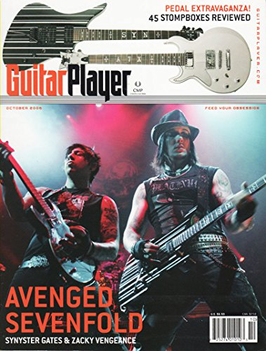Guitar Player Magazine, Issue 437, Volume 40, No. 10, for sale  Delivered anywhere in USA
