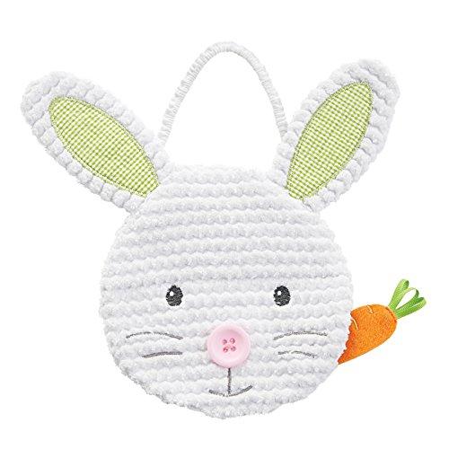 Easter Bib (Mud Pie Baby Bib Applique, Easter Bunny, One Size)