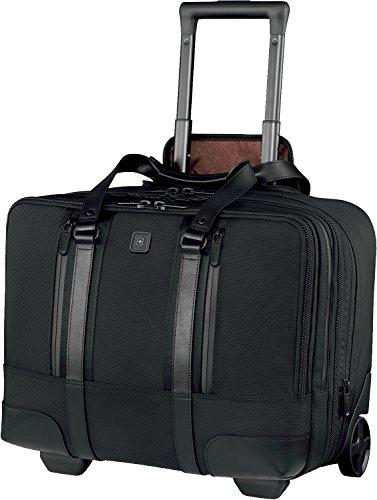 Victorinox Nylon Briefcase - Victorinox Lexicon Professional Century, Black