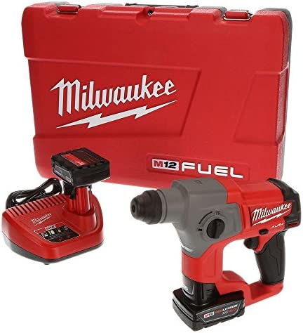 Milwaukee 2416-22xc M12 Fuel 5 8 Sds Plus Rotary Hammer Kit