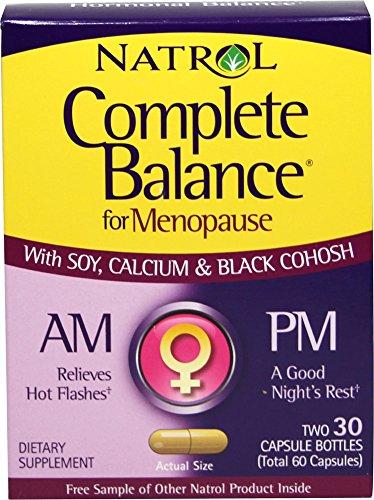 Natrol - menopausia completa, Am y Pm 30 + 3Ocap