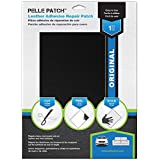 Pelle Patch - Leather & Vinyl Adhesive Repair Patch - 25 Colors Available - Original 8x11 - Black