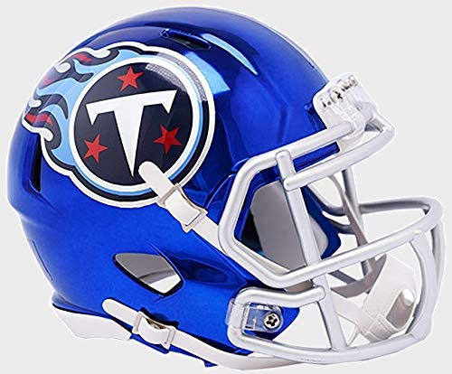 Helmet Mini Replica Tennessee (Riddell TENNESSEE TITANS NFL Revolution SPEED Mini Football Helmet)