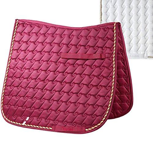compra nuovo economico Tattini SOTTOSELLA SOTTOSELLA SOTTOSELLA DRESSAGE ROSSO BORDEAUX FUL  il prezzo più basso