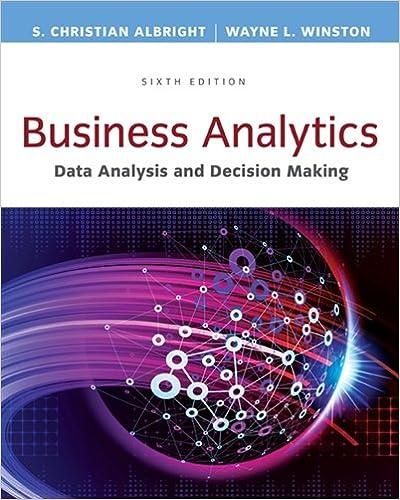 Business analytics data analysis decision making standalone business analytics data analysis decision making standalone book 6th edition fandeluxe Choice Image