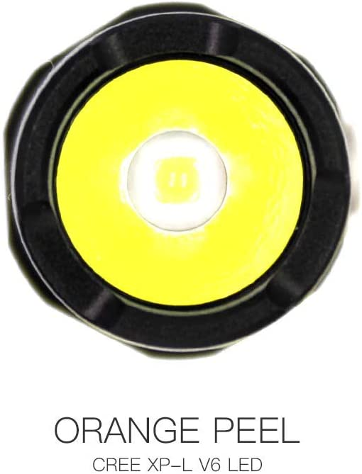 ThruNite/® Archer 2A V3 500 Lumens 2*AA Batteries Long Runtime Orange Peel Reflector,