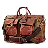 Will Leather Goods Men's Traveler Duffel Bag - Tobacco