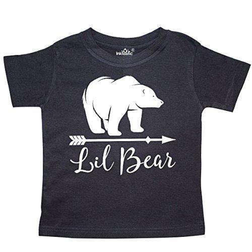 inktastic - Lil Bear Boys Cute Baby Gift Toddler T-Shirt 2T Black 2ae81