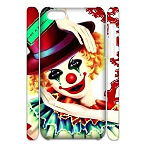 Cell phone 3D Bumper Plastic Case Of Clown For iPhone 5C