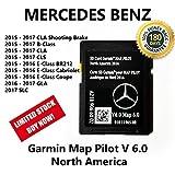 Mercedes-Benz CLA CLS GLA SLC B E-Class 2017 Navigation SD Card GARMIN Map Pilot