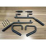 GOWE Car New Front & Rear 4 Pieces Interior Grab Handles Black Set For Jeep Wrangler 07-16 08 09 11 13 14 15 [QPA291]