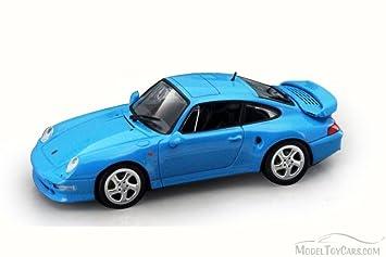1996 Porsche 911 Turbo (993), Blue - Lucky 94219 - 1/43
