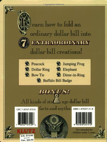 How to Fold a Dime in a Dollar Bill: 14 Steps (with Pictures) | 500x378