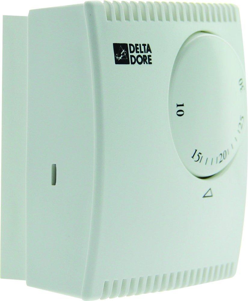 Delta Dore TYBOX 10 6053038 - Termostato de ambiente mecánico filar para calefacción y climatización: Amazon.es: Bricolaje y herramientas