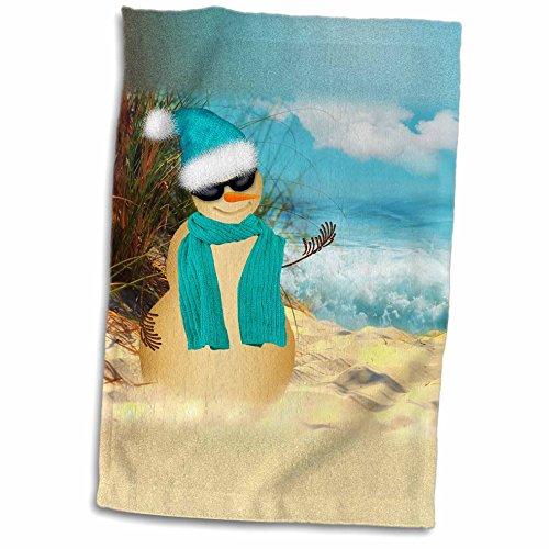 doreen-erhardt-christmas-collection-sandy-beach-sandman-with-ocean-view-fun-spoof-on-a-snowman-11x17